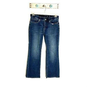 Levis 10M Perfect Waist 525 Bootcut Blue Jeans